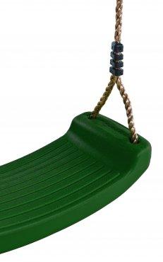 Plastový sedák na hojdačku  - zelený - PSZ