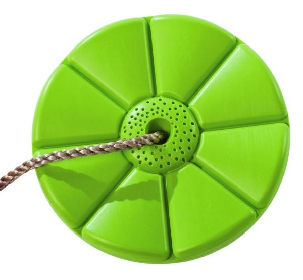 Plastový sedák kvetina (kruhový) - limetka