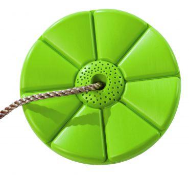 Plastový sedák kvetina (kruhový) - limetka - PSML