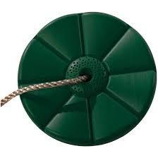 Plastový sedák kvetina (kruhový) - tmavě zelený