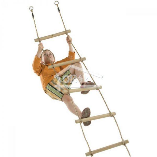 Povrazový rebrík - 5 priečok