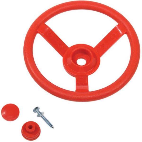 Volant - červený