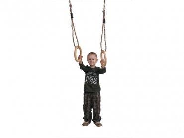 Drevené gymnastické kruhy - DK